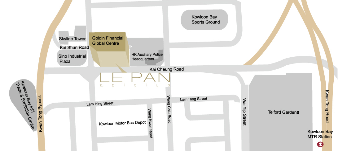 Map of LE PAN