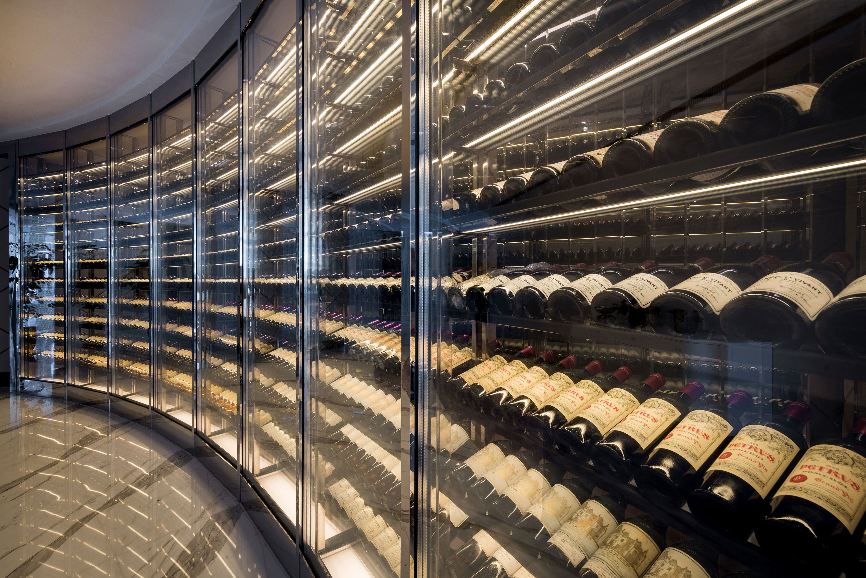 LE PAN's wine cellar